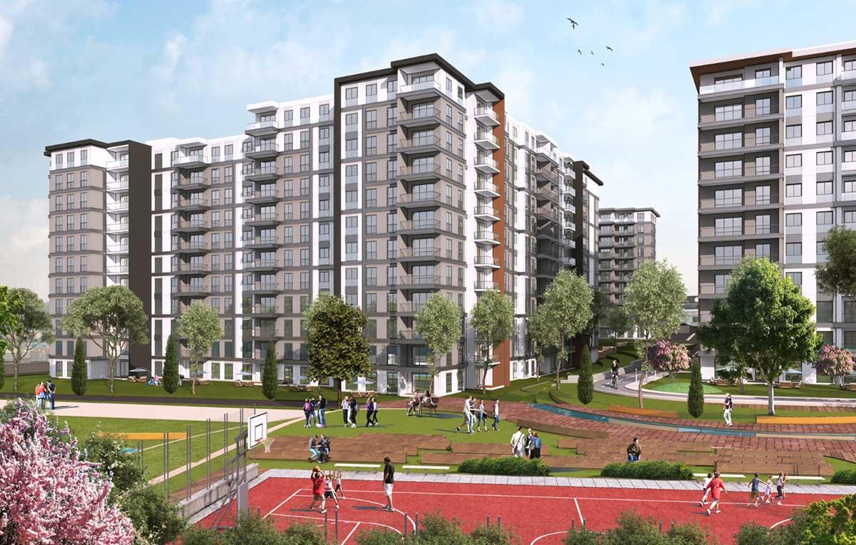 مشروع سكني مميز يحقق شروط الجنسبة التركية GP-010
