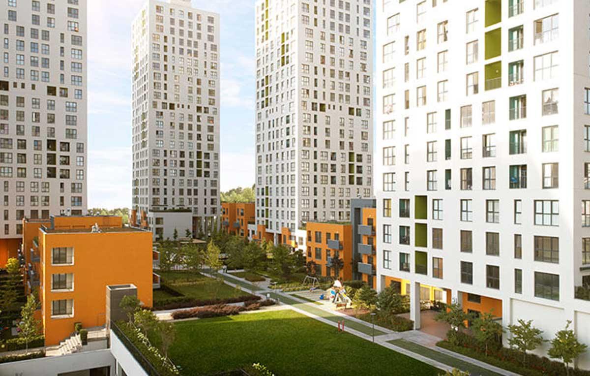 مشروع سكني عائلي مميز بمساحات خضراء وخدمات متكاملة GP-022