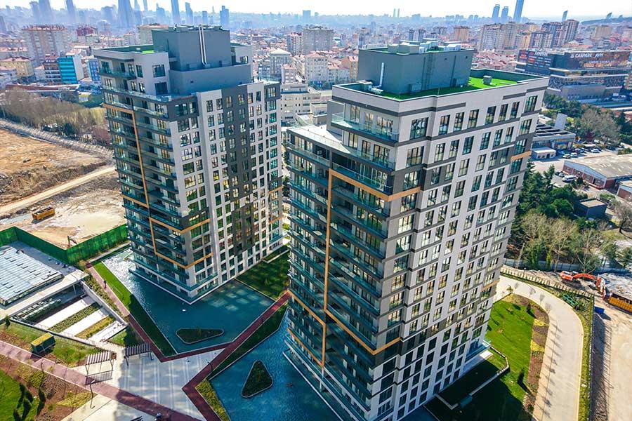 شقق للبيع في اسطنبول ضمن مجمع سكني في القسم الاسيوي GP-154
