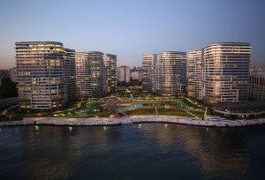 شقق للبيع في اسطنبول ضمن مجمع سكني على البحر مباشرة GP-164